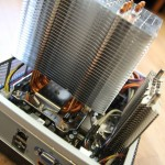 Heatsinks mounted